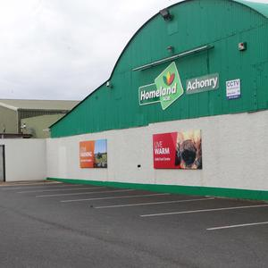 "The vacant Aurivo site at Achonry which is ""turn key"" ready as a new food hub"
