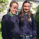 Erin Brehony and Eimear Joyce of Class 4E Ursuline College