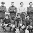 Rovers 1968-69: Back row: Ken Turner, Tony Stenson, Tom Lally, Alan Fox, John Milner, Kevin Fallon. Front row: Ian Rippington, Maurice Jones, Paul Durant, Mick Hunter, Tony Bartley
