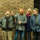 Stockton's Wing perform with Damien Dempsey Sunday 29 Oct.