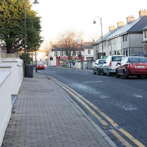 St Brigid's Place, Sligo from where a young man has been banned from entering