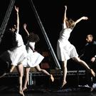 Swan Lake Loch nah Eala dancers mid-performance. Pic: Robbie Jacks