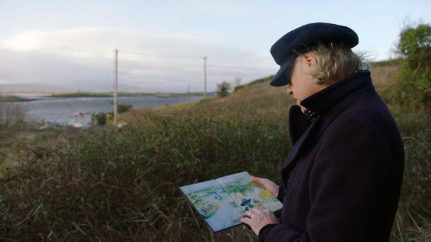 Bob Geldof visits Elsinore Pilot's cottage in Rosses Point in his documentary feature on Yeats called 'A Fanatic Heart'