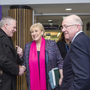 County Council CEO Ciaran Hayes with Ministers Heather Humphreys and Charlie Flanagan at IT Sligo last Friday. Pic: Donal Hackett