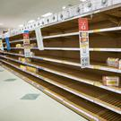 Supermarkets quickly ran out of bread once the red warning went out by Met Eireann in advance of Storm Emma