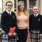 Mercy College students gave up social media for a day and raised more than €1650 for Trócaire which was given to Ms Janine Heavy from Trocáire