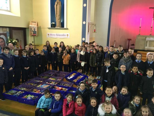 Children from the Mercy Primary celebrated Easter with a Polish twist.