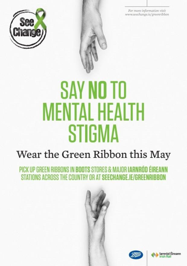 Wear A Green Ribbon For Mental Health Independent Ie