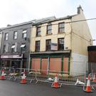 No. 39 High Street remains at risk of collapse