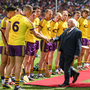 President Higgins at the Leinster hurling final in 2017