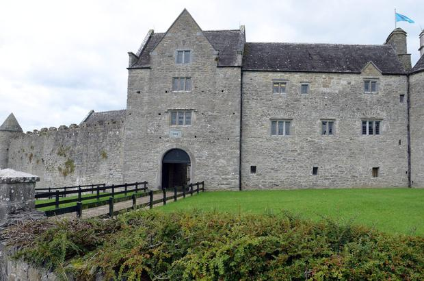 Parkes Castle in Leitrim. Admission is free every day at the moment