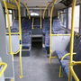 The downstairs space on most city buses is tight enough, making it difficult to accommodate wheelchairs and pushchairs. Reduced seating downstairs would free up more