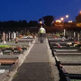 A Garda on night patrol in Sligo cemetery