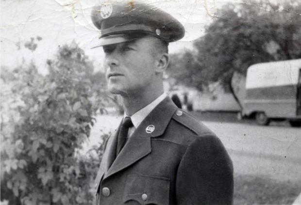 CMsgt Michael Mahon of Sligo in the US Air Force