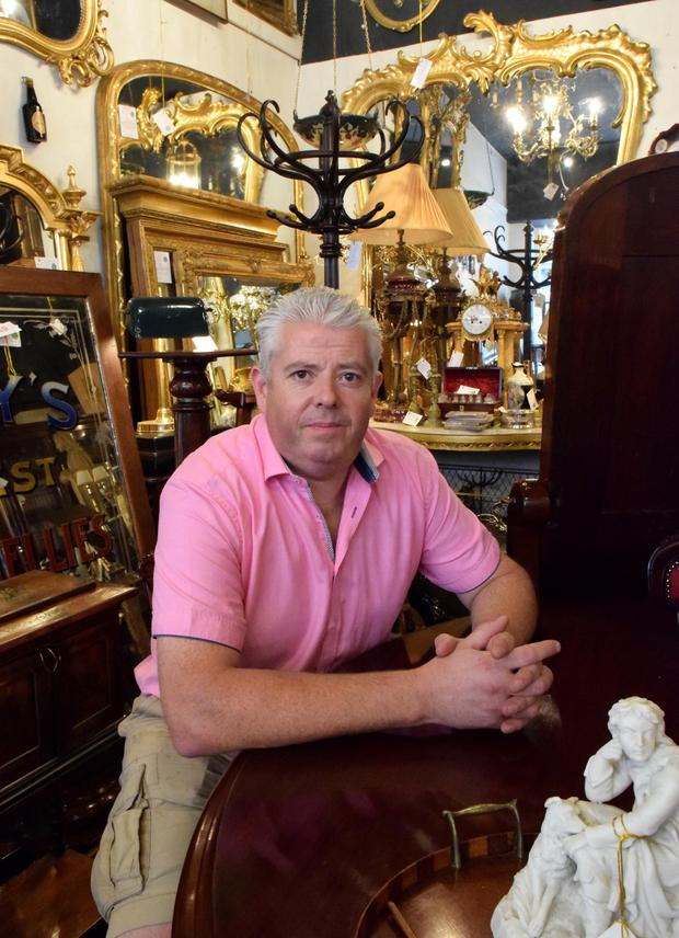 Mervyn Blanc of Yeats County Antiques