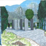 Drawing of what the proposed Garden of Remembrance will look like at Cleveragh