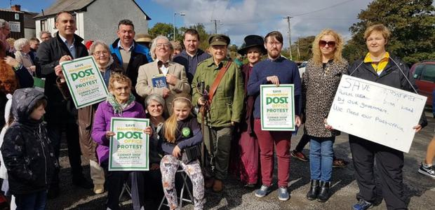 The Save Maugherow Post Office action group hoped An Post would offer Dunleavy's shop a contract