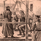 Esther and Hugh Loughridge are hanged in a scene from Allen Foster's new 'Book of Irish Murder'