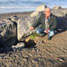 Cllr Chris MacManus highlighted local concerns about coastal erosion in Strandhill