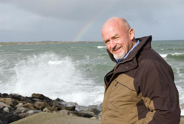 Freddie Parle pictured in Strandhill soon after his release in March 2008