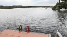 Lough Gill, Sligo, where the 55 year old Englishman drowned