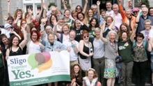 Campaigners celebrated as the referendum to repeal the 8th amendment was passed