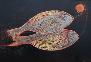 Jennifer Lane's Silver Sea Bream, an exhibit which will be on display at the Hyde Bridge Gallery