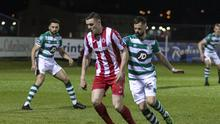 Sligo Rovers v Shamrock Rovers.