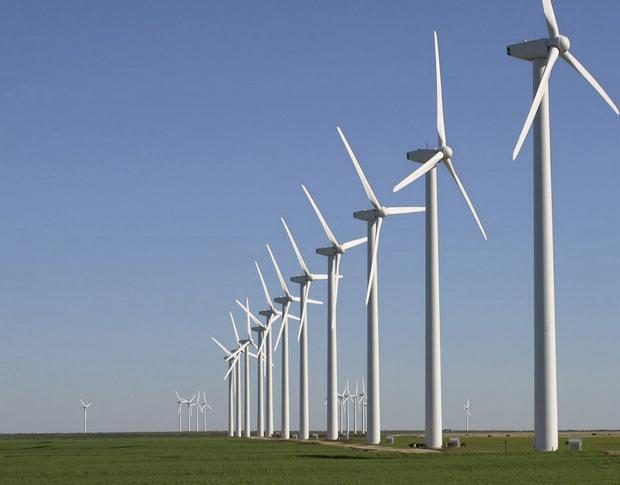 While some Irish families have benefited from wind farms across the country, others have not been so lucky.