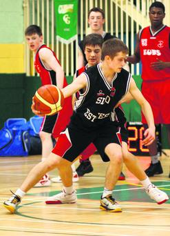 Philip Hamilton in action for Sligo All Stars