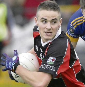 Gary Feeney, Drumcliffe, who has been named at centre half back on The Sligo Champion Intermediate Club All Stars team.