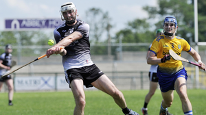 Mark Hannify of Sligo who scored 2 goals in the Christy Ring quarter final with Roscommon in Dr Hyde Park on Saturday. Pic: Carl Brennan.