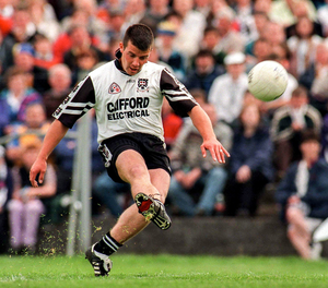 Current Sligo manager Paul Taylor in action against Roscommon in the Connacht Senior Football Championship semi-final in 1998. Pic: Matt Browne/Sportsfile