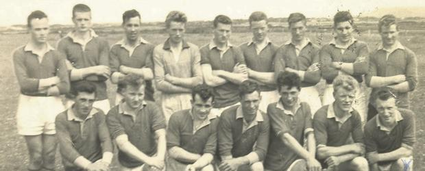 The last Easkey team to win the County Senior Football Championship in 1966.