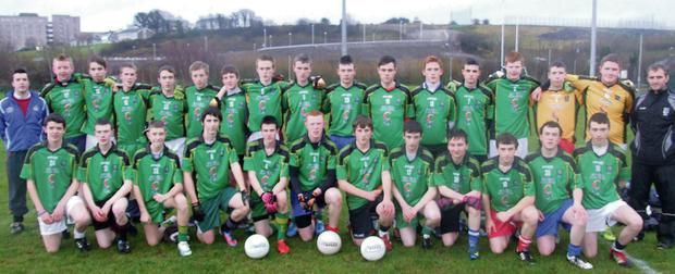 The Coola Post Primary team which won the Sligo School's League final in 2012. The team came back a year later to win the title for the fifth time.