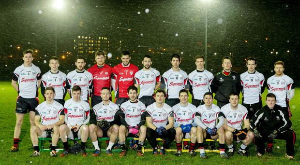 The IT Sligo Sigerson Cup team which faced Queen's University in the opening game in Belfast
