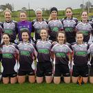 The Sligo Ladies team who were runners up in the Connacht League on Sunday