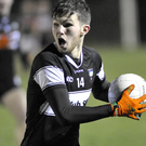Alan McLoughlin of Sligo in action during their U21 victory over Mayo