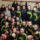 Coola celebrate after a thrilling final with St Attracta's which went to extra time