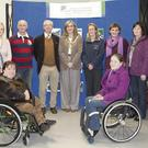 Pictured at the launch of the Sligo Sports Strategy Plan were Lucy Brennan, Peg Mitchell, Eithne Clancy, Jim Rushe, John Treacy, Mayor Clr Marcella McGarry, Emer Concannon, Claire Doohan, Brid McLoughlin, Mary Kilgallon, Damien Kelly, Mariead Connolly and Katie Bourke.