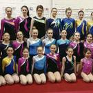 Members of the DyNamo Gymnastics Club who took part in the club's annual competition recently.