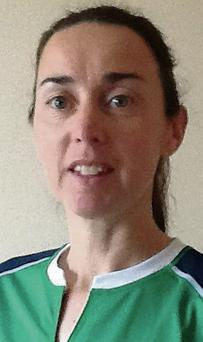 Sligo's Clodagh Lynch (McMoreland) who is captain of the Irish Masters team taking part in the Hockey World Cup in Holland.
