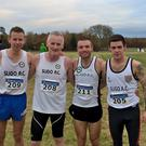 Sligo AC senior team Emmet Dunleavy finished 25th, Rory Connor top 100, Seamus Somers top 70 and JP Carty 45th in a competitive National Cross Country which was a trial for the European Cross Country in Italy in December