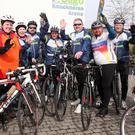 Cyclists taking part in the Yeats Tour of Sligo