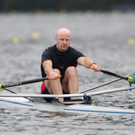 Tommy Colsh of Ballymote rowing for Ireland at the World Masters Rowing Championships in Slovenia