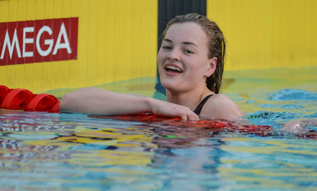 World Champion Mona McSharry has been named Swimmer of the Year