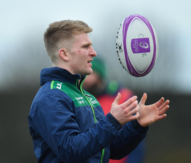 Stephen Kerins has signed a professional contract with Connacht. Photo by Seb Daly/Sportsfile