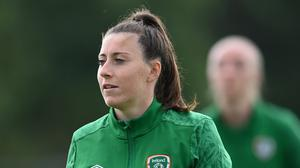 Lucy Quinn has received clearance to play for the Republic of Ireland. Pic: Sportsfile