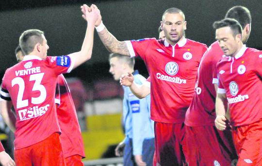 Anthony Elding will be hoping to find the net in Europe