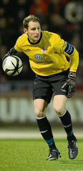 Sligo Rovers' goalkeeper, Gary Rogers, will be busy coaching Cavan's keepers during his mid-summer break.